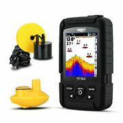 Lucky Fish Finder Wired And Wireless Portable Fishing Sonar For All Fishing Types