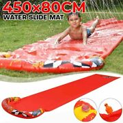 Single Surf Water Slide Mat Lawn For Children Outdoor Summer Pool Games Toys