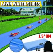 Giant Surf Water Fun Lawn Water Slides Pools For Kids Summer Games Center Toys