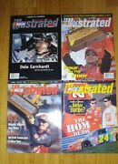 Nascar Winston Cup Illustrated Lot Of 4 Magazines January 2000 To January 2002