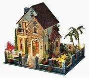 Diy Wooden Doll House Large Villa Hand Assembled Building Model Toy - Love House