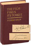 Fitzhugh Green Film Finds Its Tongue First Edition Inscribed By Signed 151487