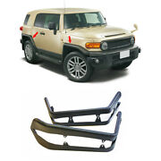 For Toyota Fj Cruiser 2007-2014 Black Iron Wheel Eyebrow Arch Trim Cover Fender
