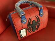 Hot Toy Marvel By Lounge Fly Handbag Spider-man Costume Fromjapan Rare