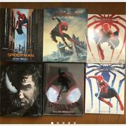 Hot Toy Spider-man Movie Series Blu-ray Complete Set From Japan Rare Limited