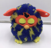 Furby —2012 Blue Orange And Yellow Dot — A Mind Of Its Own — Hasbro Tested