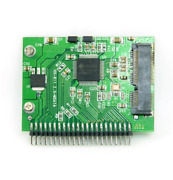Mini Pci-e Ssd To 40pin 2.5 Inch Zif Ce Converter Card For Ipod Ipad For