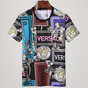 Versace Menand039s Womenand039s Medusa Short Sleeve T-shirts
