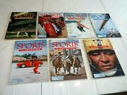 Lot Of 7 Issues 1 Thru 7 Sports Illustrated Magazines With Baseball Cards