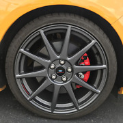 For Ford Racing 13-18 Focus St 19in X 8in Wheel Set With Tpms Kit - Matte Grey