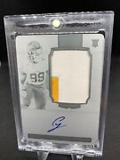 2020 National Treasures Chase Young True Rpa 2 Clr Patch Auto Printing Plate 1/1