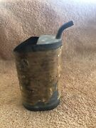 Antique Vintage 1929 Coleman Fuel Measuring Can For Lamps And Stoves Oil Gas Can