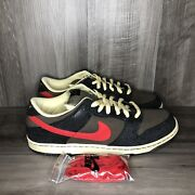 Nike Sb Dunk Low Iron Man Size 13 Brand New Ds