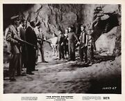 Children And Johnny Crawford Stand Between Alien And Soldiers Vintage Photo