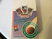 1992 Hot Pics Supreme Court Basketball Wax Box With 36 Packs. Box Is Factory Sea