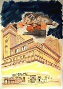 Larry Rivers Carnegie Hall From The Carnegie Hall 100th Anniversary Portfolio