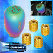Jdm Sport M12x1.25 Weighted Race Type Shift Knob 5 Speed Manual Mt Neo Chrome