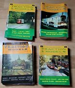 Lot Of 80 Traction And Models Magazine 1960's 1970's Trolley Railway Train