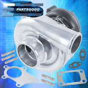 Jdm Sport Gt61 T3/t4 T04e Turbo Charger .50 A/r Compression .57 Turbine Housing