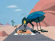 Warner Brothers-limited Edition Cel-waiter There's A Fly In My Soup-wile Coyote