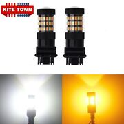 3157 Switchback Led Turn Signal Light Bulbs For Chevy Silverado 1500 2500 3500