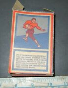 Vintage American Candy And Toy Uncut Box Jim Thorpe