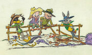 Warner Brothers-chuck Jones-limited Edition Paper-the Good The Bad And The Hungry