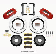 Wilwood Tx6r Front Kit 15.50in Red 2010-up For Ford For F150 6 Lug 140-13865-