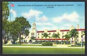 Lakeland Fl Carpenters And Joiners Of America Union Home Linen 1940s-1950s