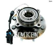 For Chevrolet Suburban 2500 Front Set Of 2 Wheel Bearing And Hub Assembly Timken