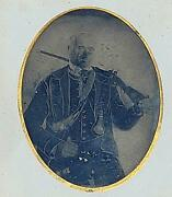 Whole Plate Tintype Armed Civil War Confederate Soldier Buncomb Countync