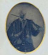 Whole Plate Tintype Armed Civil War Confederate Soldier Buncomb County,nc