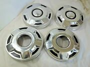 1980and039s 90and039s Ford 4x4 Truck Dog Dish Hub Cap Set Of 4 - 10 1/2 Inch - H304