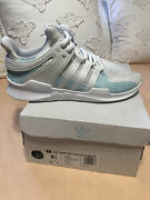 Adidas Eqt Support Adv Ck X Parley Shoes White Blue Spirit Ac7804 Mens Size 9.5