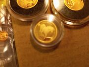 2007 Tuvalu 3 Race Horse 1/25 Oz Proof Rare Gold By Perth Mint
