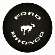 15 Inch Spare Wheel Tire Cover For Ford Bronco Black Spare Tyre Cover 28 29