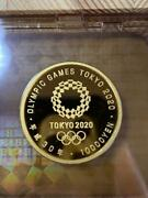 Tokyo 2020 Olympic Games Commemorative 10 000 Yen Gold Coin Evil Proof Money Set