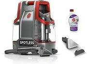 Hoover Spotless Portable Carpet And Upholstery Spot Cleaner Fh11300pc Red