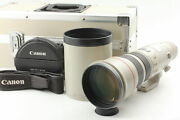 [exc+5 In Case] Canon Ef 500mm F/4.5 L Usm Ultrasonic Lens W/ Hood From Japan