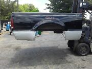 Gg51021 F250 Truck Bed Box Super Duty Short Bed Ford Black / Silver Powerstroke