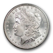 1889 O 1 Morgan Dollar Pcgs Ms 64+ Uncirculated New Orleans Mint Blast White