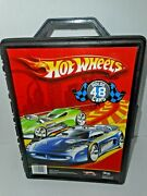Hot Wheels 2011 Tara Toy Corp Carry Case Holds 48 Cars Item 20020 Hard Grids