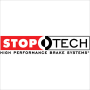 Stoptech 2015 Vw Gti Front Bbk W/ Red St-41 Caliper Slotted 328x25 1pc Rotor 82