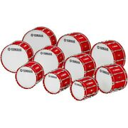 Yamaha 14 X 14 8300 Series Field-corps Marching Bass Drum Red Forest