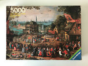 5000 Pieces Jigsaw Puzzle Ravensburger Country Fair Vintage Very Rare Puzzle