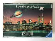 12000 Pieces Jigsaw Puzzle Ravensburger New York City Never Sleeps Sealed Bags