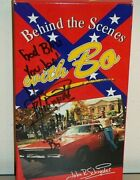 Signed Behind The Scenes With Bo Vhs John Schneider Autograph Dukes Of Hazzard