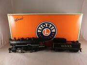 Lionel Trains Southern 0-8-0 Steam Switcher Locomotive And Tender 6-11119 W Box