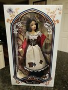 """Disney Limited Edition Snow White In Rags 17"""" Doll New In Box 1 In 6,500"""