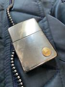 Zippo Sterling K18 With Old Metal